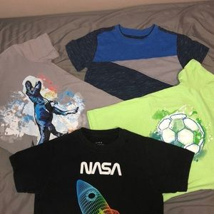 Bundle of boy shirts